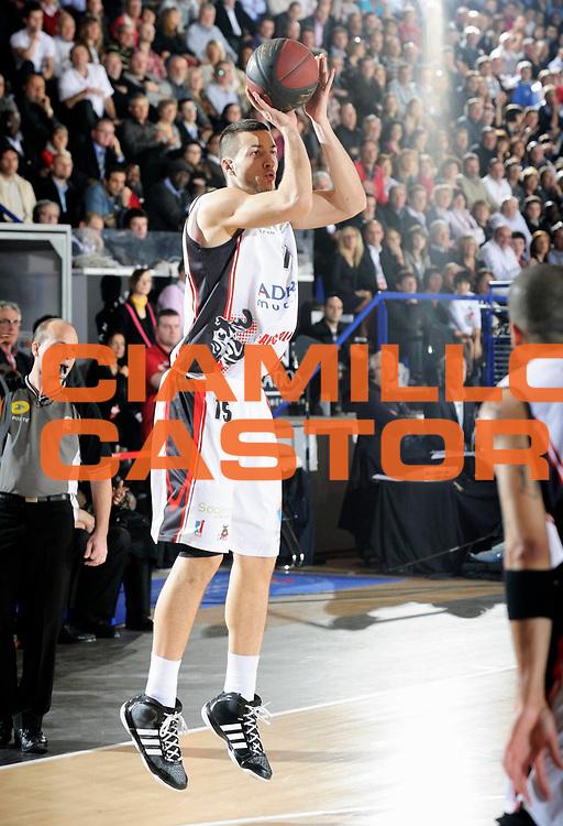 DESCRIZIONE : Championnat de France Pro A Semaine des As Roanne Demi Finale<br /> GIOCATORE : Lauvergne Joffrey<br /> SQUADRA : Chalon <br /> EVENTO : Pro A Semaine des As<br /> GARA : Chalon Nancy<br /> DATA : 18/02/2012<br /> CATEGORIA : Basketball France Homme<br /> SPORT : Basketball<br /> AUTORE : JF Molliere<br /> Galleria : France Basket 2011-2012 Action<br /> Fotonotizia : Championnat de France Basket Pro A Semaine des As<br /> Predefinita :