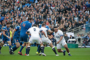 Paul Gabrillagues (FRA), George Ford (ENG), Jamie George (ENG), Paul Gabrillagues (FRA), Yacouba Camara (FRA) during the NatWest 6 Nations 2018 rugby union match between France and England on March 10, 2018 at Stade de France in Saint-Denis, France - Photo Stephane Allaman / ProSportsImages / DPPI