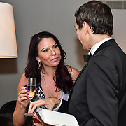 Sexpert, Louise Van Der Velde attend Rochay High Society Soiree with Jovoy at Westbury Mayfair grafton suite on 21 November 2019, London, UK.