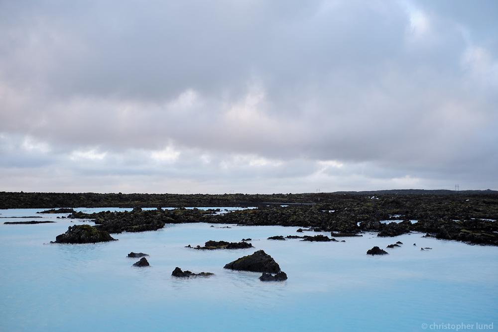 The Blue Lagoon, Reykjanes Peninsula, Iceland.