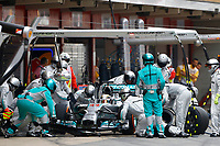 HAMILTON Lewis (Gbr) Mercedes Gp Mgp W05 action  during the 2014 Formula One World Championship, Grand Prix of Spain from may 8 to 11th 2014, in Barcelona, Spain. Photo Frederic Le Floc'h / DPPI