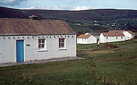 Holiday cottages, Glencolumbkille, Co Donegal, Rep of Ireland, 198009000398b..Copyright Image from Victor Patterson, 54 Dorchester Park, Belfast, United Kingdom, UK...For my Terms and Conditions of Use go to http://www.victorpatterson.com/Victor_Patterson/Terms_%26_Conditions.html