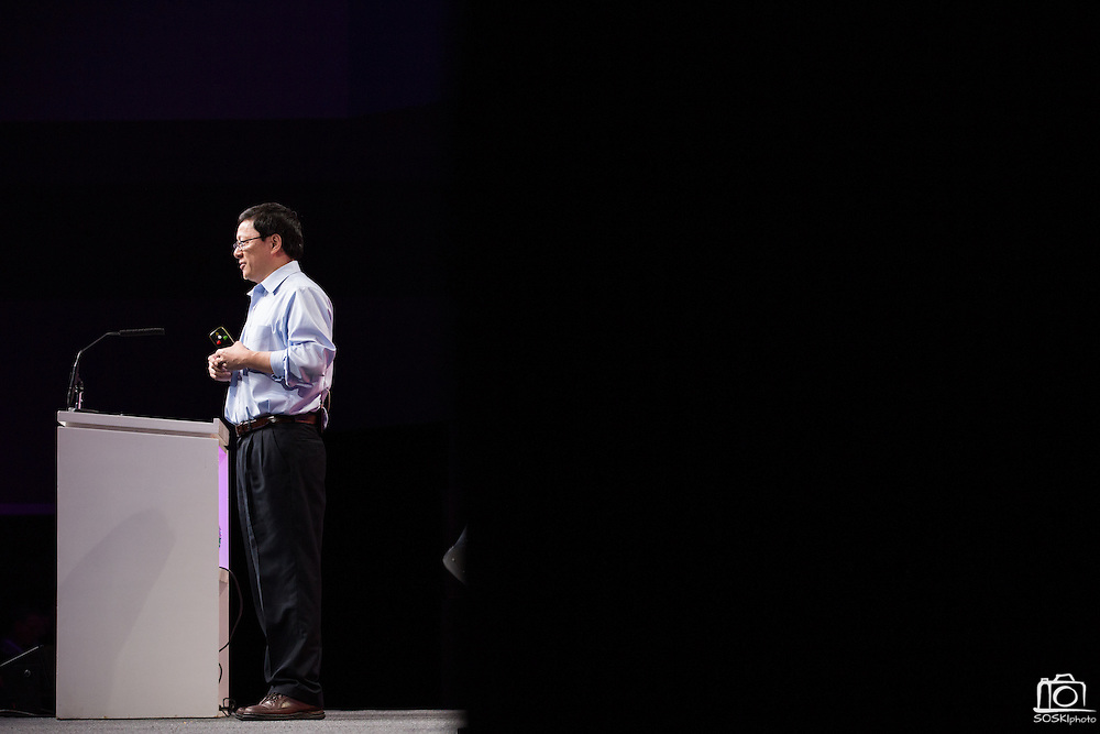 The Linux Foundation hosts its Cloud Foundry Summit 2015 at the Santa Clara Convention Center in Santa Clara, California, on May 12, 2015, (Stan Olszewski/SOSKIphoto)