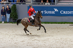 SCHWIZER Pius (SUI), Balou Rubin R<br /> Genf - CHI Geneve Rolex Grand Slam 2019<br /> Prix des Communes Genevoises<br /> 2-Phasen-Springen<br /> International Jumping Competition 1m50<br /> Two Phases: A + A, Both Phases Against the Clock<br /> 13. Dezember 2019<br /> © www.sportfotos-lafrentz.de/Stefan Lafrentz
