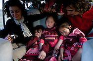 Mongolia. Children fashion , in the Orkhon valley, Bayamsuren family  Hakhorin -    Deux par Deux collection / Mode enfant dans la vallee de l'Orkhon, famille Bayamsuren  Karakorum - Mongolie  / 10