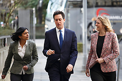 © licensed to London News Pictures. London, UK 17/01/2014. Ed Miliband, Leader of the Labour Party arriving at University of London to deliver a speech on the economy on Friday, 17 January 2014. Photo credit: Tolga Akmen/LNP