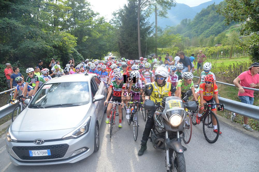 Ciclismo giovanile, 10A Coppa di Sera, Esordienti Donne, Borgo Valsugana 10 settembre 2016 © foto Daniele Mosna