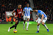 Callum Wilson (13) of AFC Bournemouth on the attack during the Premier League match between Bournemouth and Huddersfield Town at the Vitality Stadium, Bournemouth, England on 4 December 2018.