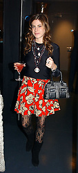 MISS FRANCESCA VERSACE at a party hosted by Panerai and the Baglioni Hotel, 60 Hyde Park Gate, London on 6th December 2004.<br /><br />NON EXCLUSIVE - WORLD RIGHTS