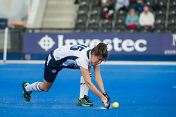 East Grinstead's Maud Van Der Kamp. East Grinstead v Holcombe - Semi-Final - Investec Women's Hockey League Finals, Lee Valley Hockey & Tennis Centre, London, UK on 22 April 2017. Photo: Simon Parker