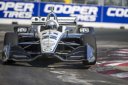 July 15, 2018 - Toronto, Ontario, Canada - SIMON PAGENAUD (22) of France battles for position during the Honda Indy Toronto at Streets of Toronto in Toronto, Ontario. (Credit Image: © Justin R. Noe Asp Inc/ASP via ZUMA Wire)
