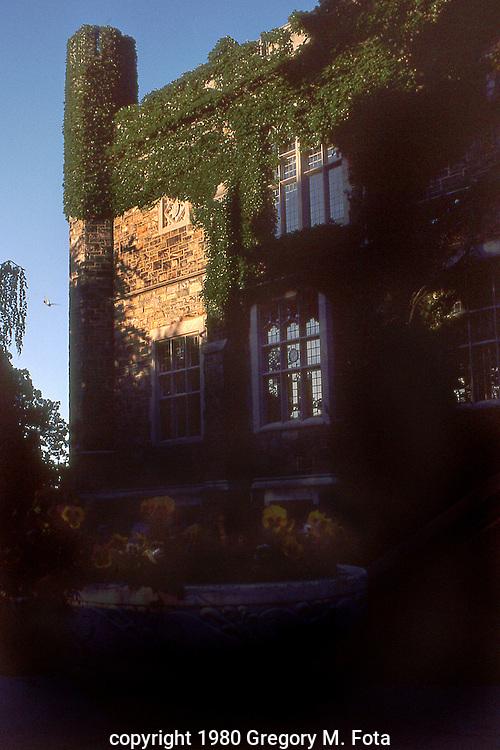Lehigh University-Lindemann Library building,Bethlehem,PA. 07011980