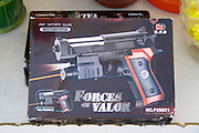 Forces of Valor air sport gun BB pellet pistol for sale. Hmong Sports Festival McMurray Field St Paul Minnesota USA