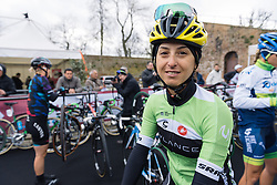 Rosella Ratto signs in for Strade Bianche on a cold, grey day in Siena - 2016 Strade Bianche - Elite Women, a 121km road race from Siena to Piazza del Campo on March 5, 2016 in Tuscany, Italy.