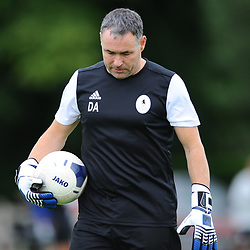 TELFORD COPYRIGHT MIKE SHERIDAN Goalkeeping coach Darren Action AFC Telford United return to training at Lilleshall National Sports Centre on Saturday, July 4, 2020.<br /> <br /> <br /> Picture credit: Mike Sheridan/Ultrapress<br /> <br /> MS202021