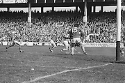 Players fight to protect the goal during at the All Ireland Senior Hurling Final, Cork v Kilkenny in Croke Park on the 3rd September 1972. Kilkenny 3-24, Cork 5-11.