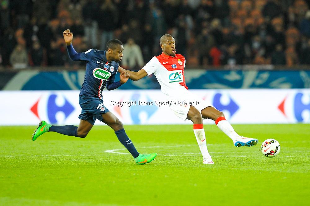Geoffrey Kondogbia / Blaise Matuidi - 04.03.2015 - PSG / Monaco - 1/4Finale Coupe de France<br />Photo : Andre Ferreira  / Icon Sport