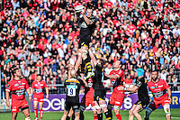 Bradley DAVIES - 05.04.2015 - Toulon / Londres Wasps - 1/4Finale European Champions Cup<br />