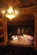 El Teatro Nacional de Panamá se encuentra ubicado en el casco antiguo de la ciudad de Panamá. El teatro fue concebido por el arquitecto italiano Genaro Ruggieri y fue  inaugurado el 1 de octubre de 1908. Panamá, 12 de enero de 2012. (Victoria Murillo/Istmophoto)