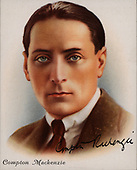 UK, Cards, Famous British Authors, 1937 AD