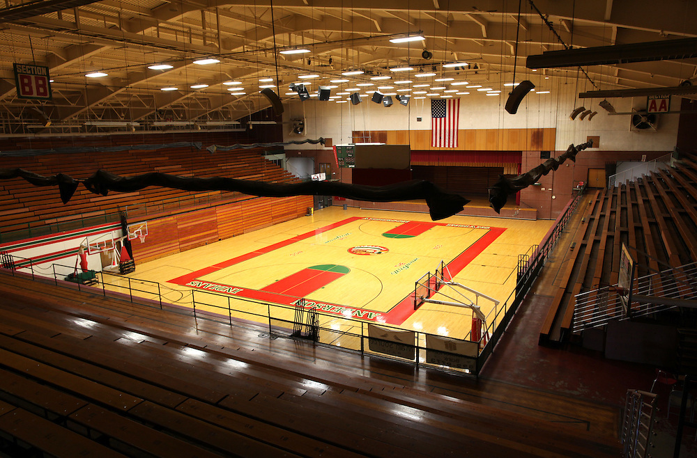 The Wigwam in Anderson, Ind. The Wigwam was once the second largest high school basketball arena in Indiana but has since been closed..Photo by Chris Bergin