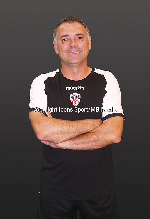 Christian BRACCONI - 21.09.2014 - Photo officielle AC Ajaccio - Ligue 2<br /> Photo : Icon Sport