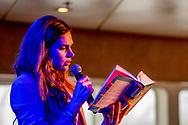 ROTTERDAM - ANNA DRIJVER een Murakami weekend op de SS Rotterdam. copyright robin utrecht
