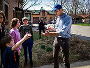 "06 APRIL 2019 - DES MOINES, IOWA:  BETO O'ROURKE at a campaign event in Des Moines. O'Rourke held a series of ""house parties"" in Des Moines Saturday as a part of his 2020 campaign to be the Democratic nominee for the US Presidential election. He is crisscrossing Iowa through the weekend with stops throughout the state. Iowa holds its caucuses, considered the kickoff of the US Presidential campaign, on Feb. 3, 2020.   PHOTO BY JACK KURTZ"