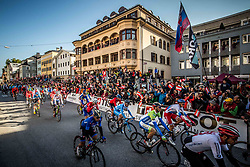 Grega Bole of Slovenia during the Men's Elite Road Race a 258.5km race from Kufstein to Innsbruck 582m at the 91st UCI Road World Championships 2018 / RR / RWC / on September 30, 2018 in Innsbruck, Austria. Photo by Vid Ponikvar / Sportida
