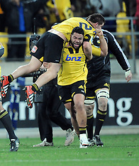 Wellington-Rugby, Super 15, Hurricanes v Chiefs