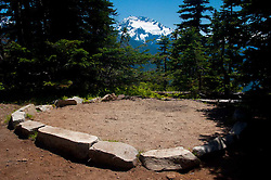 Campsite, Desolation Peak, North Cascades National Park, Washington, US