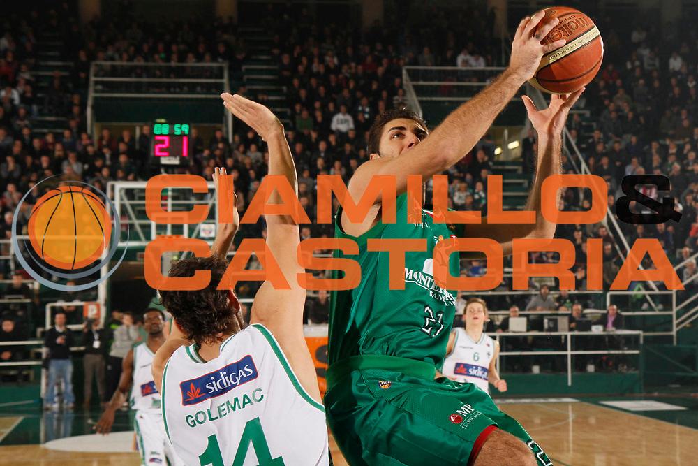 DESCRIZIONE : Avellino Lega A 2011-12 Sidigas Avellino Montepaschi Siena<br /> GIOCATORE : Pietro Aradori<br /> SQUADRA : Montepaschi Siena <br /> EVENTO : Campionato Lega A 2011-2012<br /> GARA : Sidigas Avellino Montepaschi Siena<br /> DATA : 11/12/2011<br /> CATEGORIA : tiro<br /> SPORT : Pallacanestro<br /> AUTORE : Agenzia Ciamillo-Castoria/A.De Lise<br /> Galleria : Lega Basket A 2011-2012<br /> Fotonotizia : Avellino Lega A 2011-12 Sidigas Avellino Montepaschi Siena<br /> Predefinita :
