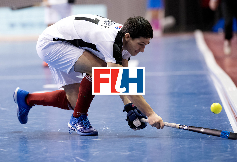 BERLIN - Indoor Hockey World Cup<br /> Quarterfinal 2: Austria - Poland<br /> foto: Patrick Schmidt.<br /> WORLDSPORTPICS COPYRIGHT FRANK UIJLENBROEK