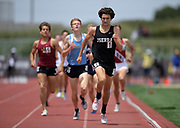 Peter Herold of JSerra wins the 1,600m in 4:11.38 during the 2019 CIF Southern Section Masters Meet in Torrance, Calif., Saturday, May 18, 2019.