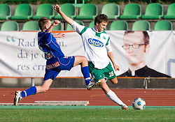 David Kasnik of Olimpija  at 18th Round of PrvaLiga football match between NK Olimpija and NK Labod Drava, on November 21, 2009, in ZAK, Ljubljana, Slovenia. Olimpija defeated Drava 3:0. (Photo by Vid Ponikvar / Sportida)