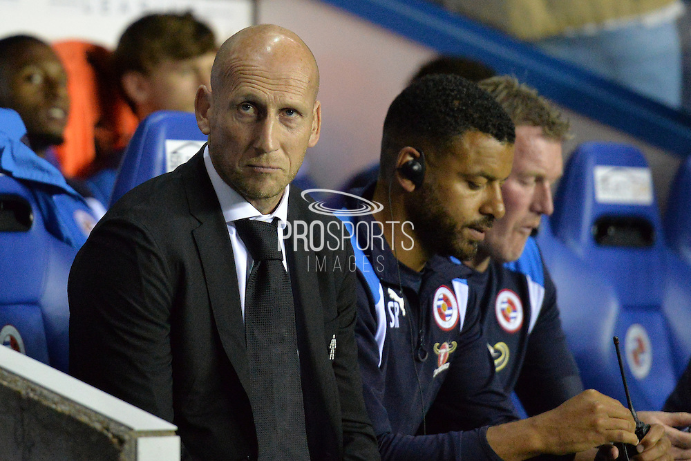 Reading FC Manager Jaap Stam during the EFL Sky Bet Championship match between Reading and Ipswich Town at the Madejski Stadium, Reading, England on 9 September 2016. Photo by Mark Davies.