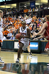 20 March 2010: Philana Greene charges the lane. The Flying Dutch of Hope College fall to the Bears of Washington University 65-59 in the Championship Game of the Division 3 Women's NCAA Basketball Championship the at the Shirk Center at Illinois Wesleyan in Bloomington Illinois.