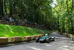 Boness Revival hillclimb motorsport event in Boness, Scotland, UK. The 2019 Bo'ness Revival Classic and Hillclimb, Scotland's first purpose-built motorsport venue, it marked 60 years since double Formula 1 World Champion Jim Clark competed here.  It took place Saturday 31 August and Sunday 1 September 2019. 53. Scott Goodfellow. Mallock Mk 6b