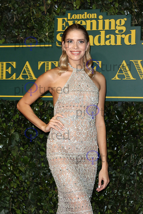 Elena Perminova, London Evening Standard Theatre Awards, Theatre Royal Drury Lane, London UK, 03 December 2017, Photo by Richard Goldschmidt
