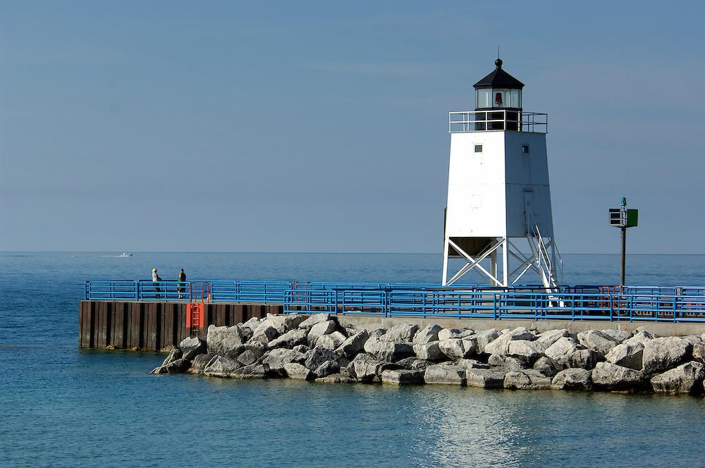 Lighthouse, Charlevoix, Michigan, USA