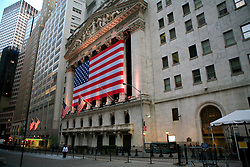 USA NEW YORK JUN10 - New York stock exchange on Wall Street in downtown Manhattan, New York...jre/Photo by Jiri Rezac..© Jiri Rezac 2010