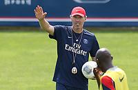 Fotball<br /> Frankrike <br /> 05.07.2013<br /> Stegersbach Østerrike<br /> Foto: Gepa/Digitalsport<br /> NORWAY ONLY<br /> <br /> Ligue 1, Paris Saint-Germain FC, IFCS Trainingslager. <br /> <br /> Bild zeigt Trainer Laurent Blanc (PSG).