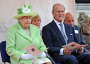 Queen Elizabeth & Prince Philip Visit Northern Ireland