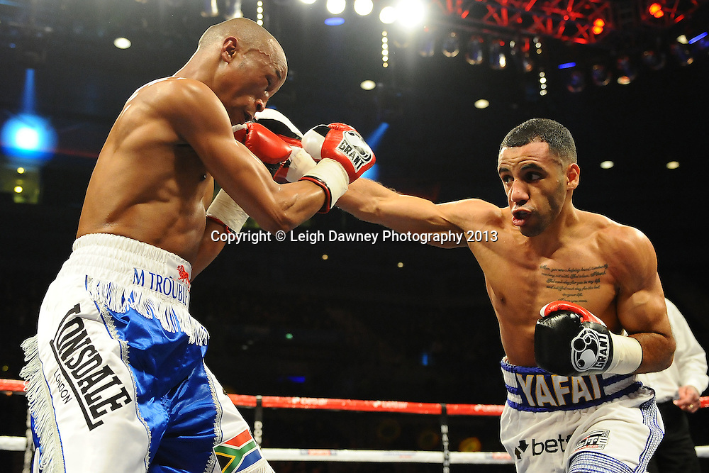 Kal Yafai defeats Michael Ramabeletsa in a 8x3 Super Flyweight contest at the Echo Arena, Liverpool, London, UK on the 30th March 2013. Matchroom Sport © Leigh Dawney Photography 2013.