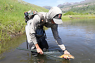 The 2017 TU Costa 5 Rivers Outreach Program will embark on a once-in-a-lifetime journey called the Native Odyssey in pursuit of 16 native trout species, all on their public land. With support from the U.S. Forest Service, Costa Sunglasses, Simms Fishing Products, Fishpond and Post Fly Box, these students will tell the stories of our native trout, the places they live, and the local economies they fuel.