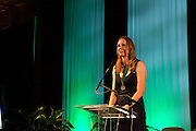 Laura Cobb at Ohio University Alumni Association's Annual Awards Gala at Baker University Center on October 11, 2013.