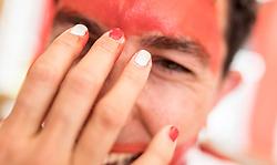 22.06.2016, Paris, FRA, UEFA Euro 2016, Oesterreichische Fans am Campinglpatz, im Bild das Leben von Österreichischen Fans aus Osttirol auf ihrem Campingplatz // Daily Life of Austrian fans from East Tyrol on their campsite during the UEFA EURO 2016 France. Paris, France on 2016/06/22. EXPA Pictures © 2016, PhotoCredit: EXPA/ JFK