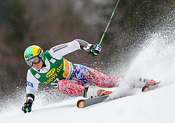 TRIKHICHEV Pavel of Russia during the 2nd Run of 7th Men's Giant Slalom - Pokal Vitranc 2013 of FIS Alpine Ski World Cup 2012/2013, on March 9, 2013 in Vitranc, Kranjska Gora, Slovenia. (Photo By Vid Ponikvar / Sportida.com)