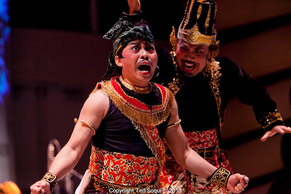 Javanese dancing at CalArts.