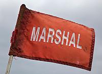ZOELEN - Vlag van de Marshal, Golfclub de Batouwe. FOTO KOEN SUYK